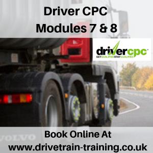 Driver CPC Modules 7 and 8 Fri 18 January 2019