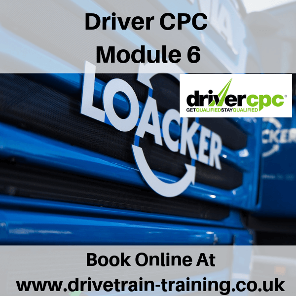 Driver CPC Module 6 Wed 11 September 2019