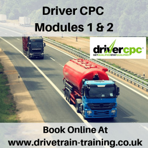 Driver CPC Modules 1 and 2 Mon 2 September 2019