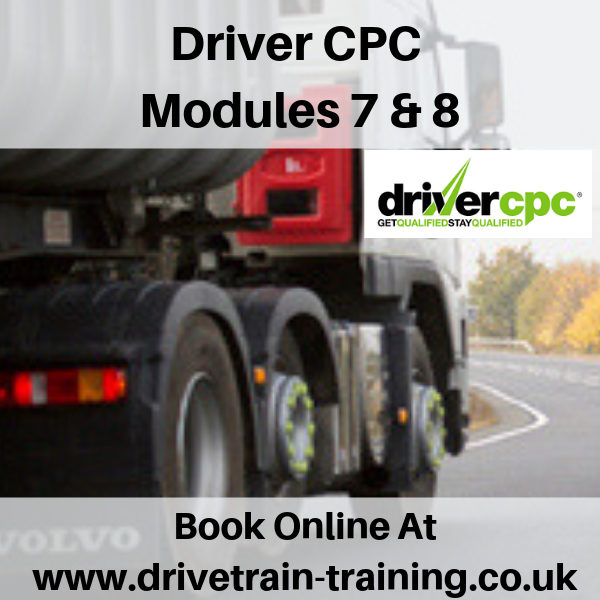 Driver CPC Modules 7 and 8 Sat 24 August 2019
