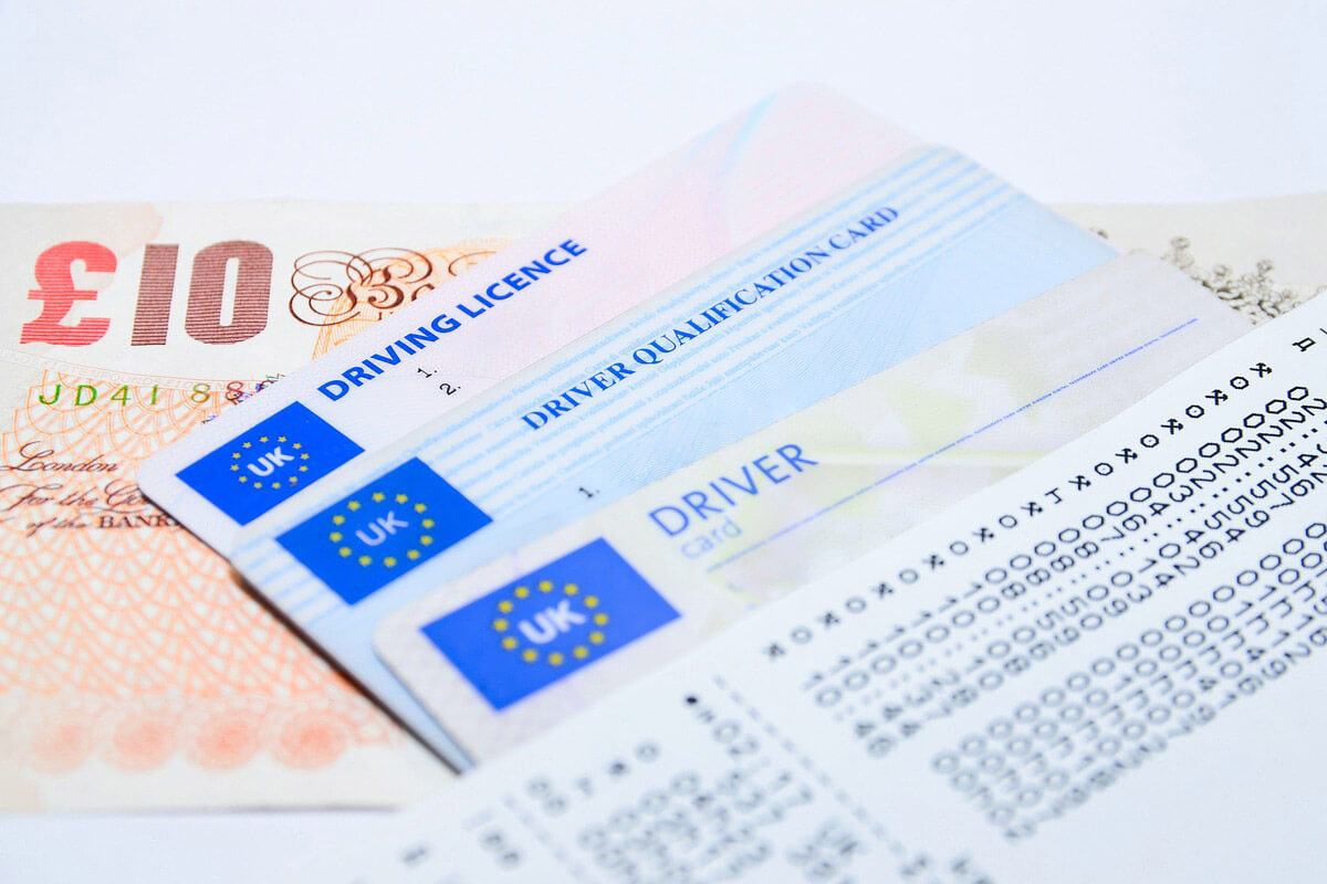 Driving Licence counterpart gone