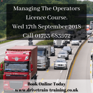 Managing The Operators Licence