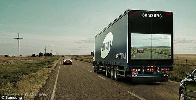 samsung see trough truck