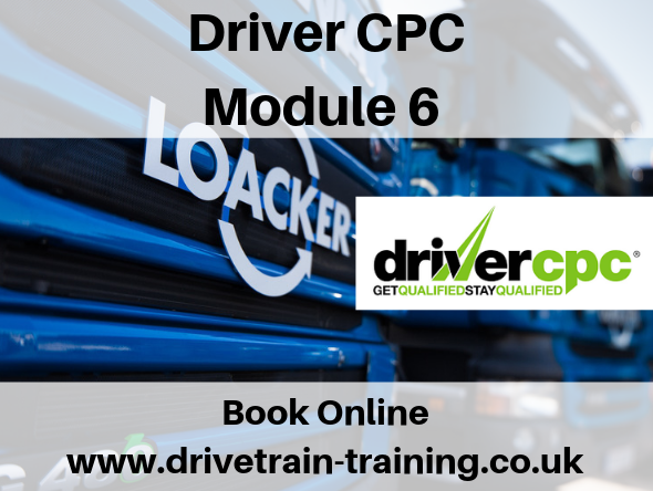 Driver CPC Module 6 Wednesday 30 October 2019