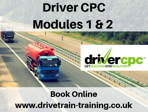 Driver CPC Modules 1 and 2 Monday 2 December 2019