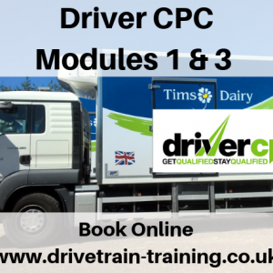 Driver CPC Modules 1 and 3 Thursday 31 October 2019