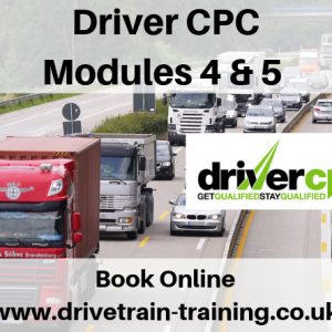Driver CPC Modules 4 and 5 Tuesday 26 November 2019