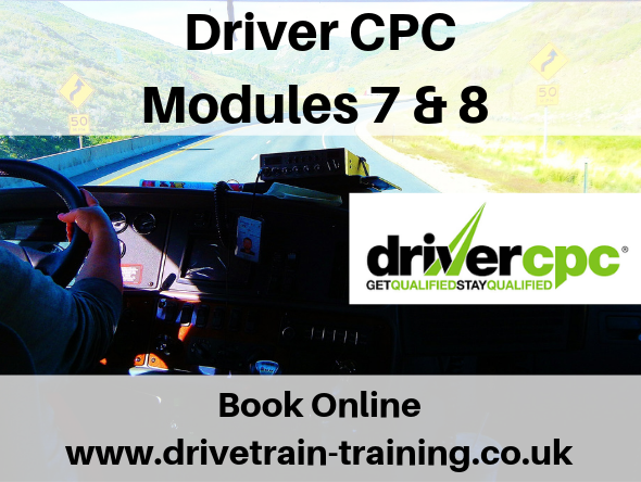 Driver CPC Modules 7 and 8 Friday 6 December 2019